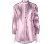 'Structured Cuff' Hemd - women - Baumwolle - 10
