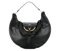 Domaine studded shoulder bag