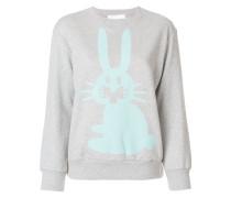 Sweatshirt mit Hasen-Print