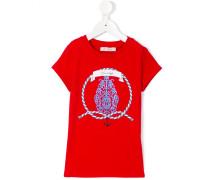 T-Shirt mit nautischem Print - kids