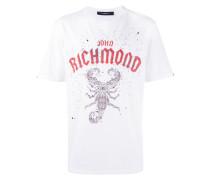 T-Shirt mit Skorpion-Print