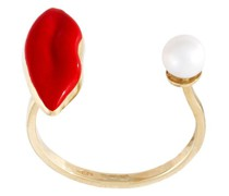 9kt 'Lips Piercing' Goldring