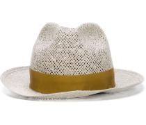 Hut mit kontrastierendem Bund