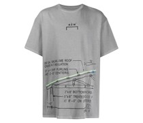 A-COLD-WALL* T-Shirt mit Architektur-Print