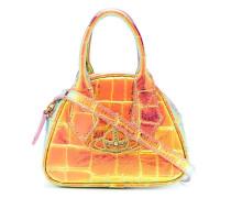 Irisierende Handtasche