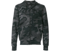 hooded camouflage sweater