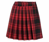 P.A.R.O.S.H. tartan check print pleated skirt