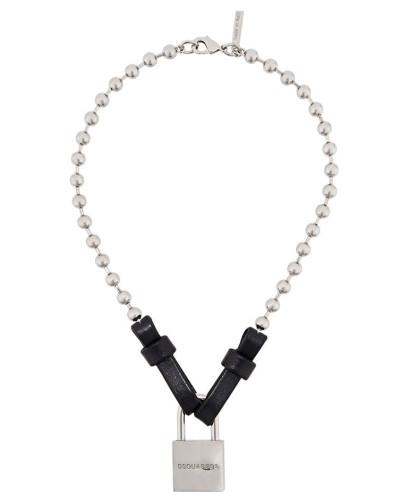 Halskette mit Schloss