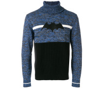 Pullover mit Fledermaus-Applikation