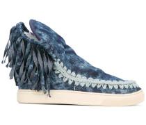 Sneakers mit Fransen - women - Baumwolle/rubber