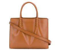 Kleine Handtasche mit Logo-Prägung