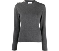 Pullover mit Knopfdetail
