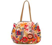 Handtasche mit Blumen-Print - women