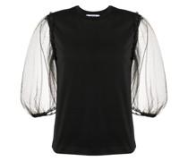 T-Shirt mit Sheer-Effekt
