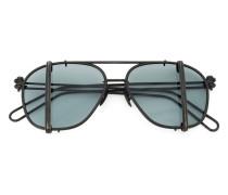 Pilotenbrille mit vertikalen Balken