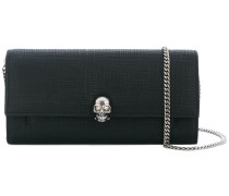 Clutch mit Totenkopf-Applikation