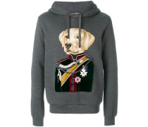 dog colonel patch hoodie