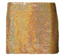 sequin mini skirt - women - Seide - S