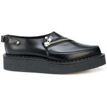 Monk-Schuhe mit Reißverschluss