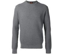Pullover mit rundem Kragen - men - Seide/Wolle