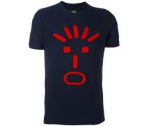 """T-Shirt mit """"Faces""""-Motiv"""
