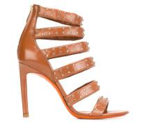 Sandalen mit Reißverschluss