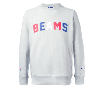 """Sweatshirt mit """"Beams""""Print"""