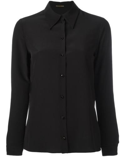 Klassisches Seidenhemd - women - Seide - 42
