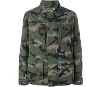 Military-Jacke mit Camouflage-Print - men