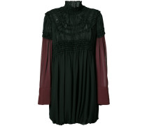high neck empire dress