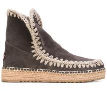 'Eskimo' Stiefel mit Kontrastnähten - women