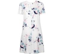 T-Shirt-Kleid mit floralem Print