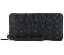 Langes Portemonnaie mit Logo-Muster