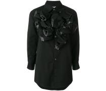 ruffles shirt dress