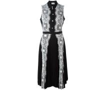 - Kleid mit Spitzenbesatz - women - Polyester - 42