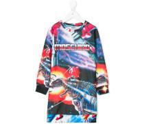 Kleid mit Transformer-Print