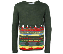 Wollpullover mit CutOuts