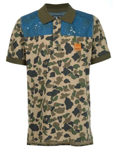prps herren hemd mit camouflage print reduziert. Black Bedroom Furniture Sets. Home Design Ideas