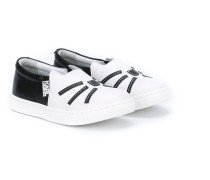 Slip-On-Sneakers mit Patches - kids