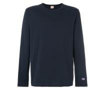 Sweatshirt mit rundem Ausschnirr
