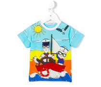 'Junior Sailors' T-Shirt - kids - Baumwolle