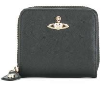 orb logo square wallet