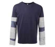 Langarmshirt mit Patchwork-Design