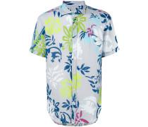Hemd mit Blumen-Print - men - Leinen/Flachs - M