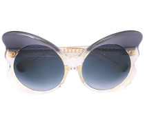 Linda Farrow x Cat-Eye-Sonnenbrille