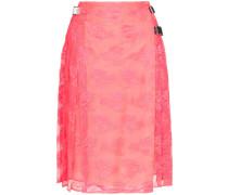 neon pink lace kilt