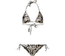 Bikini mit Teddybär-Print