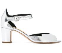 - Sandalen mit niedrigem Absatz - women - Leder