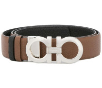 reversible Gancio buckle belt