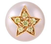 18kt rose gold 'Superstellar' pearl stud earring